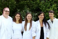 v.l.n.r. Miriam Teichert, Rena Mossbrugger, Susanne Motschmann, Dr. Katja Ade-Kappelmann, Edda Schrempf